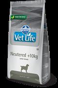 Сухой корм FARMINA VET LIFE Neutered для кастрированных, стерилизованных собак весом больше 10 кг