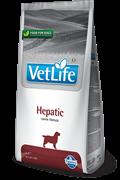 Сухой корм FARMINA VET LIFE Hepatic для собак диета при заболеваниях печени