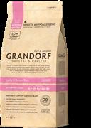 Сухой корм GRANDORF Lamb/Rice для котят – с ягненком и рисом