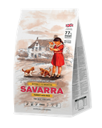 Сухой корм SAVARRA Kitten Turkey/Rice для котят с индейкой и рисом