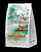 Сухой корм SAVARRA Adult Anti-Hairball Cat Duck/Rice для взрослых кошек для вывода шерсти с уткой и рисом