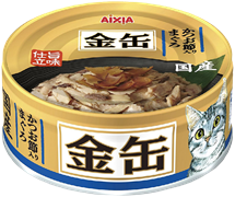 Консервы для кошек AIXIA Kin-Can Tuna with Dried skipjack тунец и сушеный бонито