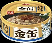 Консервы для кошек AIXIA Kin-Can Tuna with Dried skipjack тунец и сушеный бонито