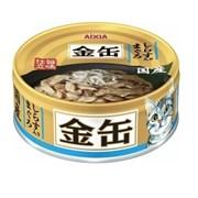 Консервы для кошек AIXIA Kin-Can Tuna with Whitebait тунец и мальки ширасу