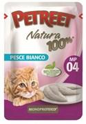 Пауч PETREET для взрослых кошек с белой рыбой