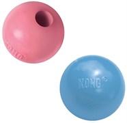Игрушка для щенков KONG Мячик под лакомства 6 см