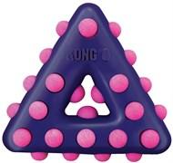 Игрушка для собак KONG Dotz треугольник с пищалкой