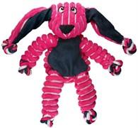 Игрушка для собак KONG Floppy Knots Кролик с веревкой и пищалками внутри