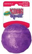 Игрушка для собак KONG Squezz Crackle хрустящий мячик 7 см