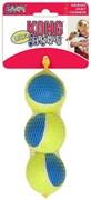 Игрушка для собак KONG Ultra Squeak мячик 6 см / 3 шт с пищалкой