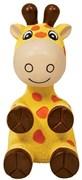 Игрушка для собак KONG Wiggi Жираф с пищалкой 22х12 см