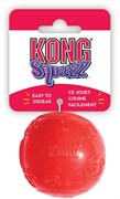 Игрушка для собак KONG Squeezz Мячик резиновый с пищалкой