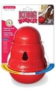 Игрушка-кормушка KONG интерактивная для собак Wobbler
