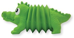 Игрушка для собак Petstages OH Accordionz Крокодил латекс с пищалкой