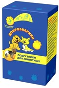 Подгузники для животных Доброзверики XS (обхват 30-45 см) 22 шт