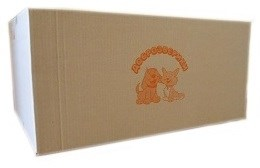 Пеленки для животных Доброзверики 60х90, 100 шт. в коробке