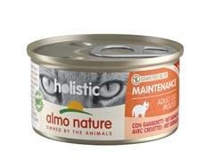 Консервы ALMO NATURE мусс для кошек с креветками (Holistic Cat wet Maintenance  - with shrimps)