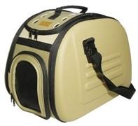Складная сумка-переноска Ibiyaya для собак и кошек до 6 кг 46 х 32 х 30 см