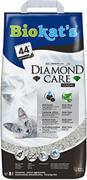 Наполнитель BIOKAT'S  Diamond Care CLASSIC комкующийся с активированным углем