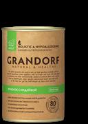 Консервы GRANDORF для собак всех пород с ягненком и индейкой