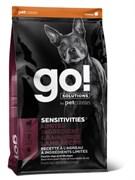 Беззерновой сухой корм GO! Limited Ingredient Lamb Recipe Dog Grain Free для щенков и взрослых собак с ягненком для чувствительного пищеварения