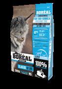 Безерновой сухой корм Boreal Original для котят и кошек 3 вида рыбы CAT FOOD/ALL BREEDS/ALL LIFE STAGES/TRIO FISH FORMULA