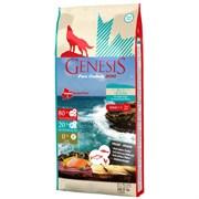 Беззерновой сухой корм Genesis Pure Canada для собак с лососем, сельдью и курицей (Adult Blue Ocean)