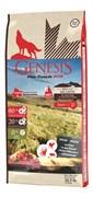 Беззерновой сухой корм Genesis Pure Canada для собак с говядиной, мясом косули и дикого кабана (Broad Meadow)