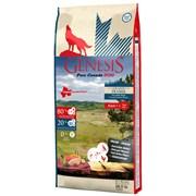 Беззерновой сухой корм Genesis Pure Canada для собак с курицей, буйволом и перепелками для чувствительного пищеварения (Grand Praire)