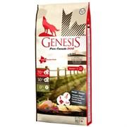 Беззерновой сухой корм Genesis Pure Canada для пожилых собак мясом гуся, фазана, утки и курицы (Wide Country)