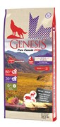 Беззерновой сухой корм Genesis Pure Canada для собак с мясом кабана, оленя и курицы с повышенной влажностью (Wild Taiga Soft)