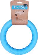PitchDog - игровое кольцо для аппортировки голубое