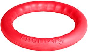 PitchDog - игровое кольцо для аппортировки розовое