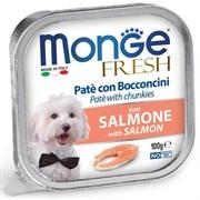 Паштет MONGE Fresh для собак с лососем