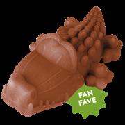 Лакомство-игрушка для чистки зубов Whimzees для собак Крокодильчик