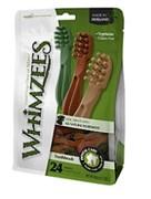 Лакомство-игрушка для чистки зубов Whimzees для собак мелких и средних пород Зубная щетка 9 см / 24 шт в пакете