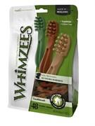 Лакомство-игрушка для чистки зубов Whimzees для собак мелких пород Зубная щетка 7 см / 48 шт в пакете