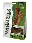 Лакомство-игрушка для чистки зубов Whimzees для собак средних пород Зубная щетка 11 см / 12 шт в пакете