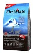 Беззерновой сухой корм FirstMate для собак малых пород всех возрастов с океанической рыбой (Pacific Ocean Fish Meal Original Small Bites)