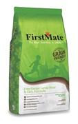 Низкозерновой сухой корм FirstMate для собак всех пород всех возрастов с ягненком и овсом (FirstMate Free Range Lamb Meal & Oats)