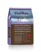 Беззерновой сухой корм FirstMate для котят и кошек с курицей и голубикой (FirstMate Chicken Meal with Blueberries)