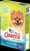 """Витанимизированное лакомство ОМЕГА NEO для собак """"Блестящая шерсть"""" с биотином и пивными дрожжами"""