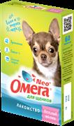 Витаминизированное лакомство ОМЕГА NEO для щенков с пребиотиками