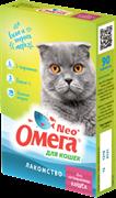 Витаминизированное лакомство ОМЕГА NEO для кастрированных кошек с L-карнитином