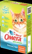 """Витаминизированное лакомство ОМЕГА NEO для кошек с морскими водорослями """"Крепкое здоровье"""""""