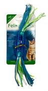 Игрушка для кошек Feline Clean Dental Конфетка прорезыватель с лентами