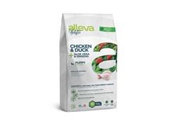 Беззерновой сухой корм Alleva Holistic для щенков мелких пород с курицей и уткой (Puppy/Junior Chicken & Duck Mini)