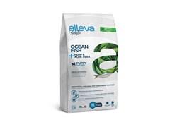 Беззерновой сухой корм Alleva Holistic для щенков крупных пород с океанической рыбой (Puppy/Junior Ocean Fish Maxi)