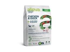 Беззерновой сухой корм Alleva Holistic для взрослых кошек с курицей и уткой (Chicken & Duck Adult Cat)