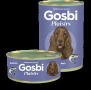 Консервы Gosbi Plaisirs для собак с лососем и овощами